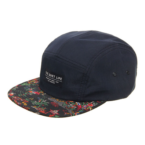 The Quiet Life - Peony 5 Panel Cap
