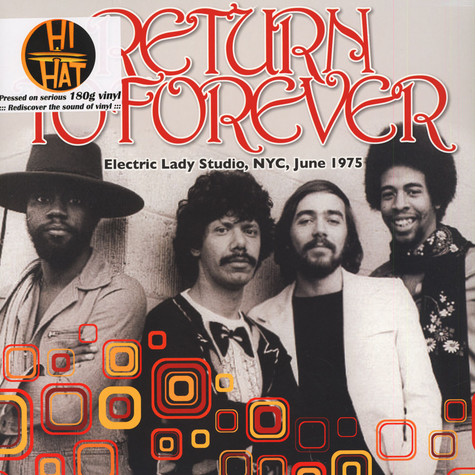Return To Forever - Electric Lady Studio