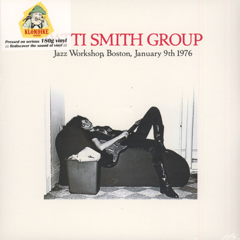 Patti Smith Group - Jazz Workshop, Boston, January 9th 1976