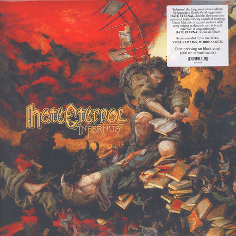 Hate Eternal - Infernus Black Vinyl Edition