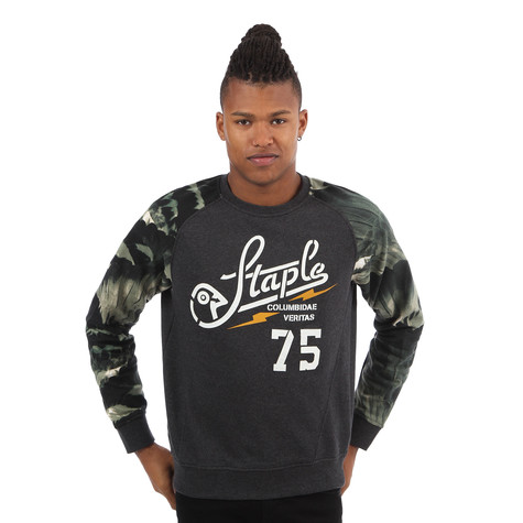 Staple - Feather Camo Crewneck Sweater