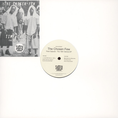 Chosen Few, The - Time Capsule: The 1991 Demos EP Feat. De La Soul