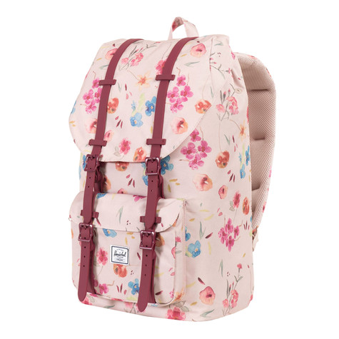 9257de106e4 Herschel - Little America Mid-Volume Backpack (Ruby Khaki   Windsor ...