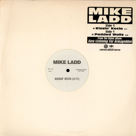 Mike Ladd - Kissin' Kecia / Padded Walls