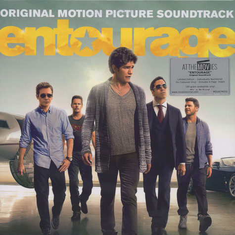 V.A. - OST Entourage - The Movie Black Vinyl Edition