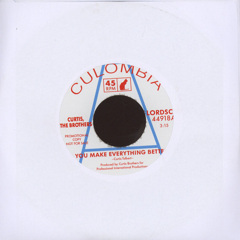 Curtis Brothers, The - You Make Everything Better