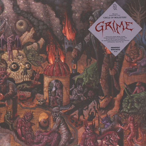 Grime - Circle Of Molesters Clear / Black Vinyl Edition
