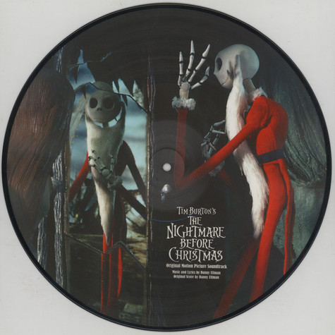 V.A. - OST The Nightmare Before Christmas Picture Disc
