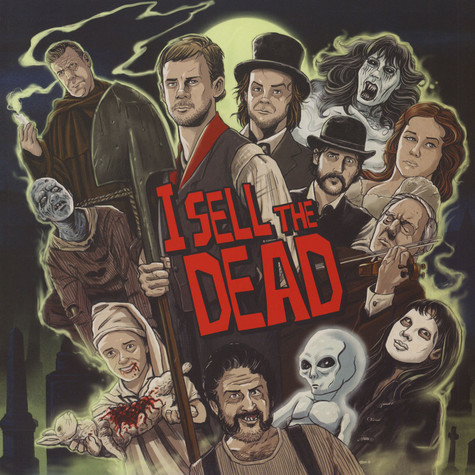 Jeff Grace - OST I Sell The Dead Red & Purple Vinyl Edition