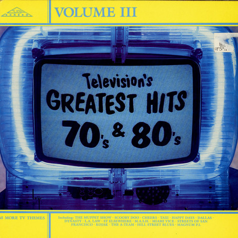 V.A. - Television's Greatest Hits 70's & 80's