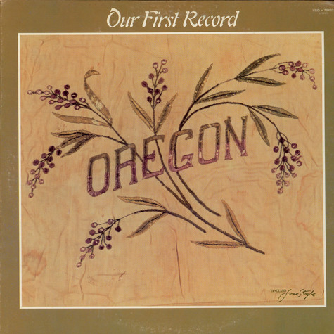 Oregon - Our First Record