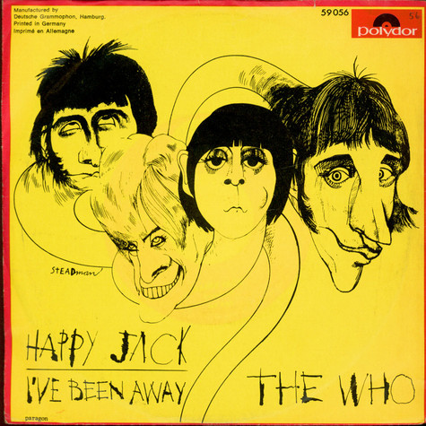 Who, The - Happy Jack / I've Been Away