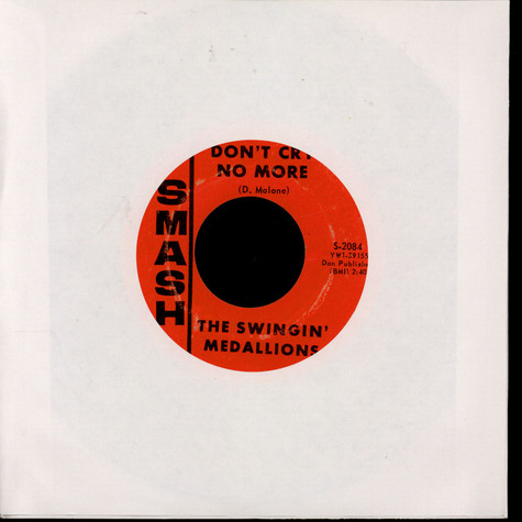Swingin' Medallions - Don't Cry No More