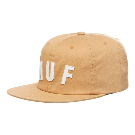 HUF - Shortstop 6-Panel Strapback Cap