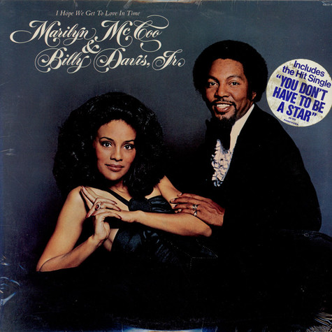 Marilyn McCoo & Billy Davis Jr. - I Hope We Get To Love In Time