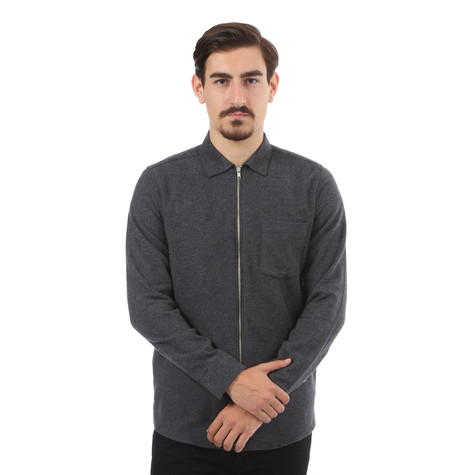 A Question Of - Zipper Shirt