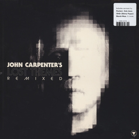 John Carpenter - Lost Themes Remixed Black Vinyl Edition