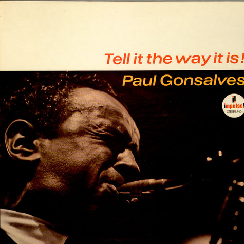 Paul Gonsalves - Tell It The Way It Is!