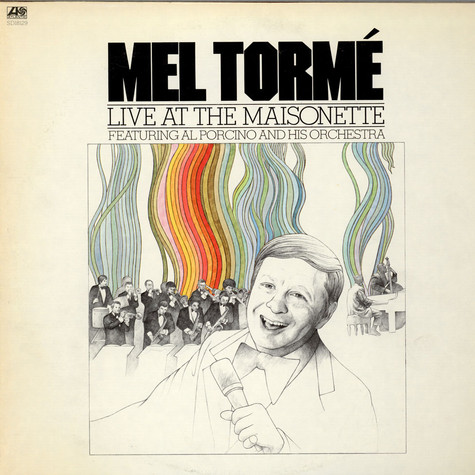 Mel Tormé Featuring Al Porcino Big Band - Live At The Maisonette