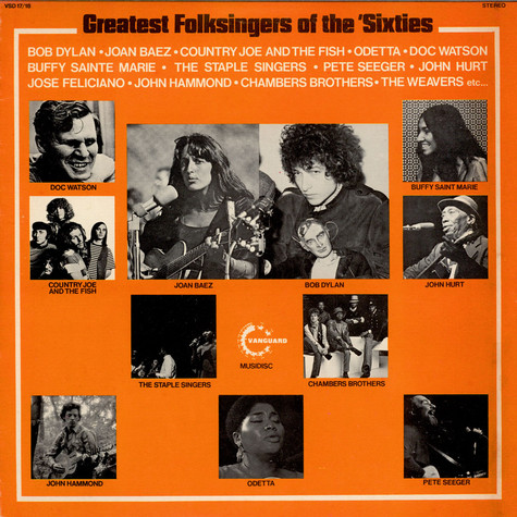 V.A. - Greatest Folksingers Of The 'Sixties