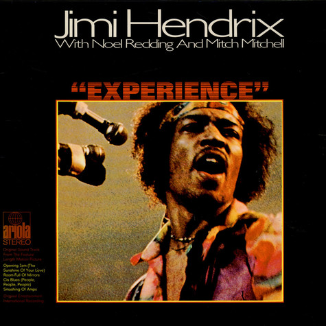 Jimi Hendrix With Noel Redding And Mitch Mitchell - OST Experience