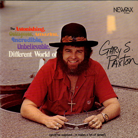 Gary Paxton, - Different World Of Gary S. Paxton