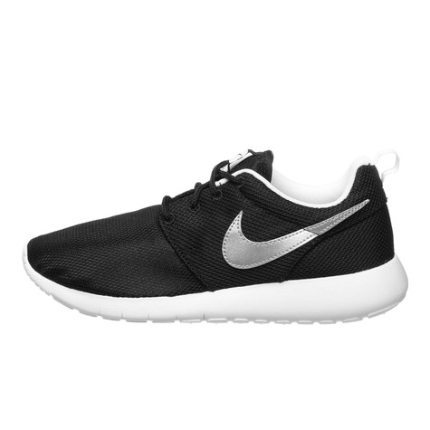 db99215e536a Nike - Roshe One (GS) (Black   Metallic Silver   White)