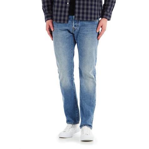 a733df1d Edwin - ED-55 Relaxed Tapered Pants Red Listed Selvage Denim, 14oz ...