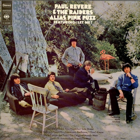 Paul Revere & The Raiders Featuring Mark Lindsay - Alias Pink Puzz