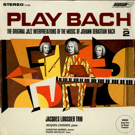 Jacques Loussier Trio - Play Bach Jazz Vol. 2