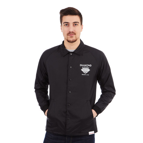 Diamond Supply Co. - Fastening Device Coach's Jacket