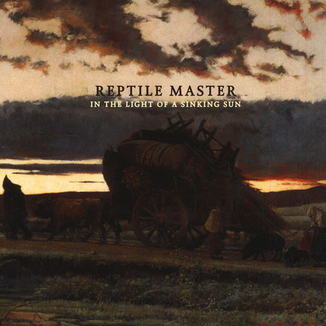 Reptile Master - In The Light Of A Sinking Sun Red Vinyl Edition