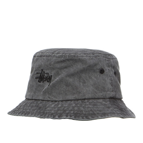 Stüssy - Smooth Stock Enzyme Bucket Hat