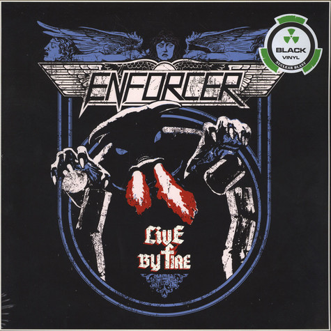 Enforcer - Live by Fire Black Vinyl Edition