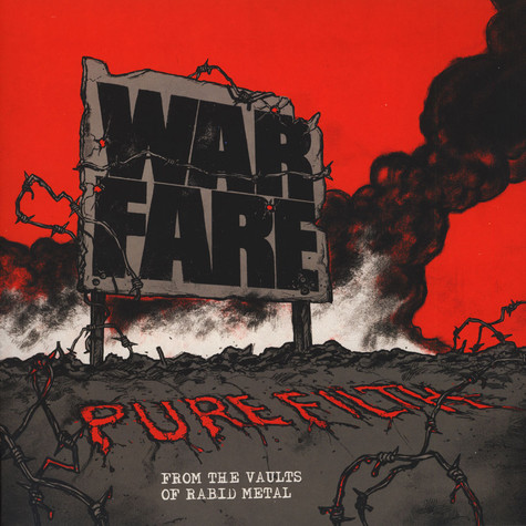 Warfare - Pure Filth: From The Vaults Of Rabid Metal Black Vinyl Edition