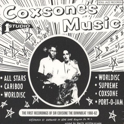 V.A. - Coxone's Music - The First Recordings Of Sir Coxsone - The Downbeat 1960-63