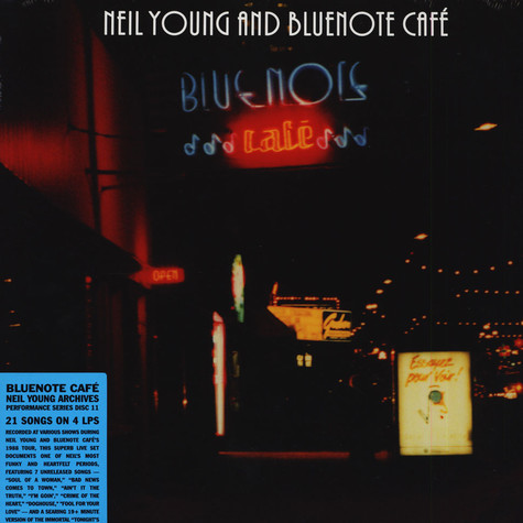 Neil Young - Blue Note Cafe