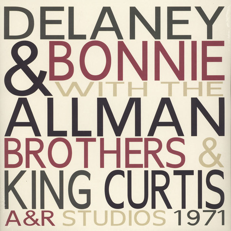 Delaney & Bonnie With The Allman Brothers - A&R Studios 1971