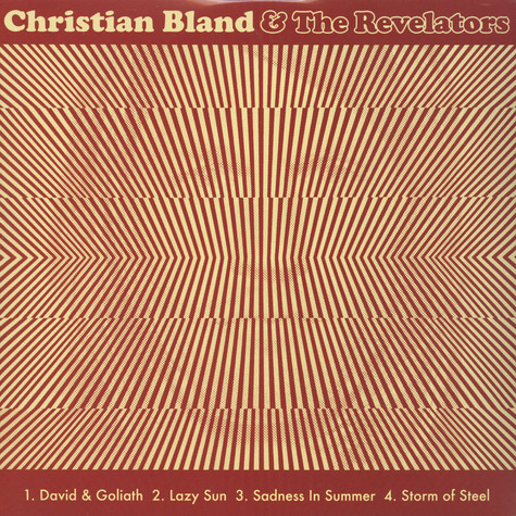 Christian Bland & The Revelators / Chris Catalena & The Native Americans - Split