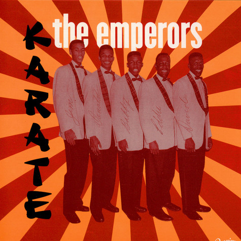 Emperors, The - Karate / My Baby Likes To Bogaloo