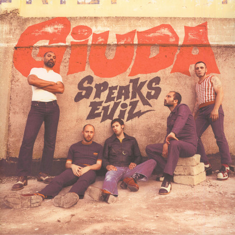 Giuda - Speaks Evil Orange Vinyl Edition