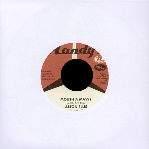 Alton Ellis / Baba Brooks - Mouth A Massy / Baby Elephant Walk