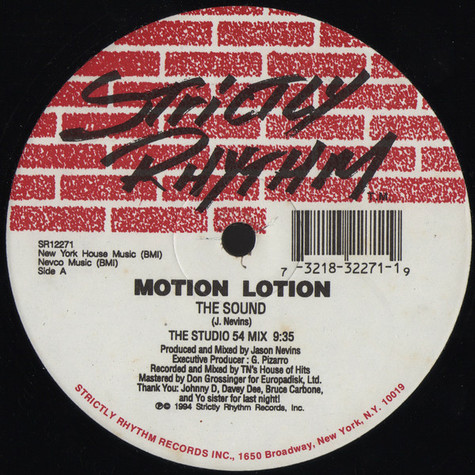 Motion Lotion - The Sound