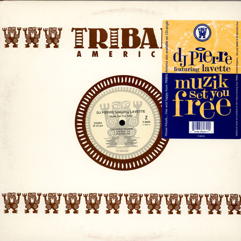 DJ Pierre Featuring Lavette - Muzik Set You Free