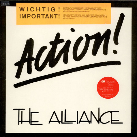 The Alliance - Action!