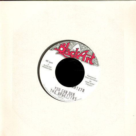Hurricanes, The / Upsetters, The - You Can Run / You Can Dub