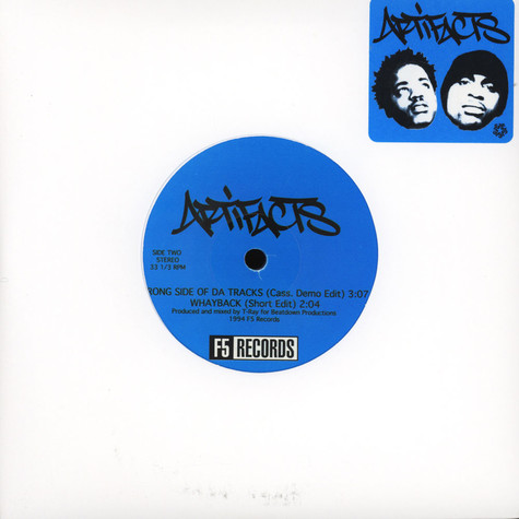 Artifacts - Wrong Side Of Da Tracks Blue Vinyl Edition