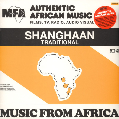 Tom Mhkize - Music From Africa: Shangaan Traditional