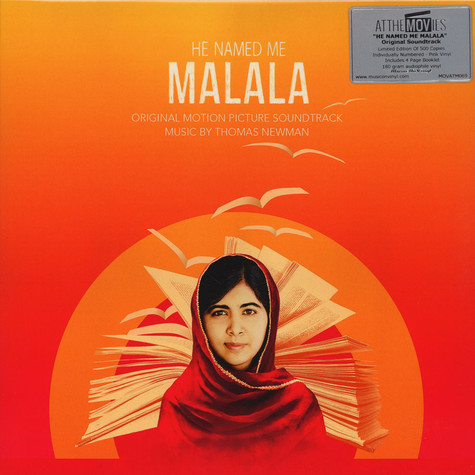 Thomas Newman - OST He Named Me Malala Pink Vinyl Edition