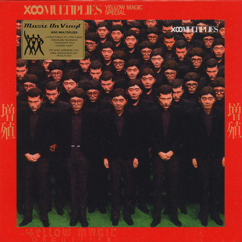 Yellow Magic Orchestra - X-Multiplies Transparent Vinyl Edition